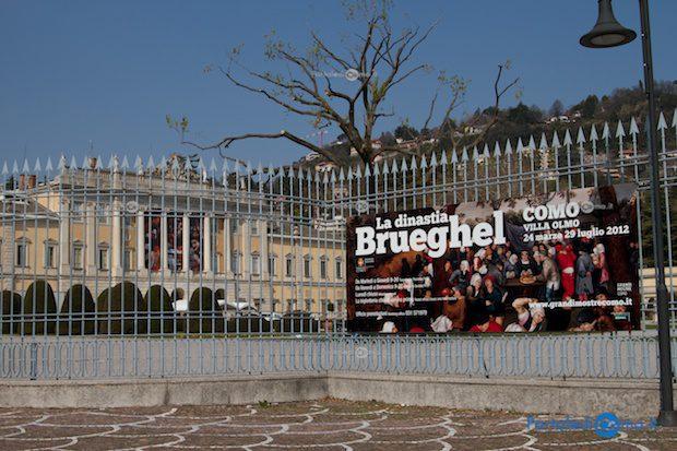 """Como Villa Olmo mostra """" La dinastia Brueghel """""""