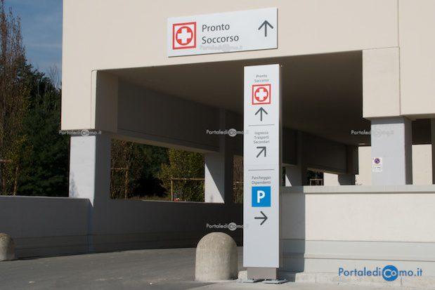 Il Pronto Soccorso dell'ospedale S. Anna - © Foto F. Molina