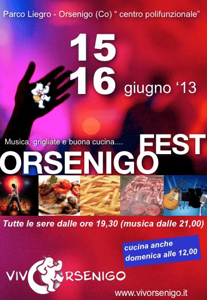 Orsenigo Fest