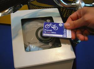 bike sharing card
