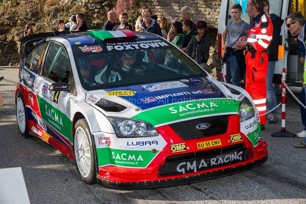 Rally Como 2013 - Corrado Fontana - Arena