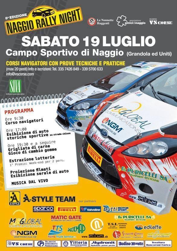 Naggio Rally Night 2014