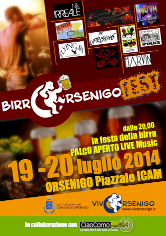 Orsenigo: BirrOrsenigo seconda edizione per godersi una birra DOC