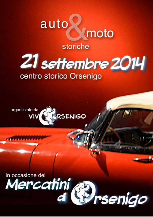Orsenigo: auto storiche e mercatino degli hobbisti