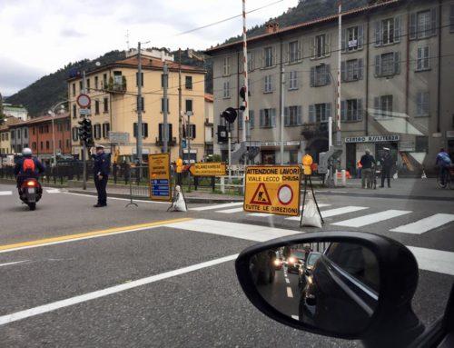 Como: da lunedì 7 settembre lavori in Viale Lecco