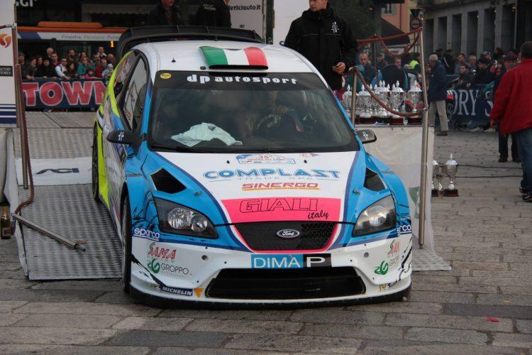 La Ford Focus dell'equipaggio Signor-Bernardi