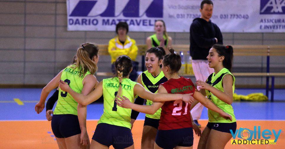Prima DivisioneFemminile – Como  Union Volley 1 – Virtus Cermenate 3