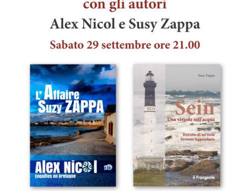 Erba: incontro con Alex Nicol e Susy Zappa