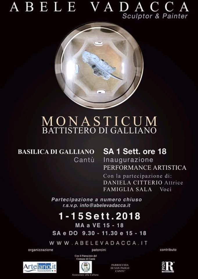 "Cantù: al Battistero di Galliano ""Monasticum"""