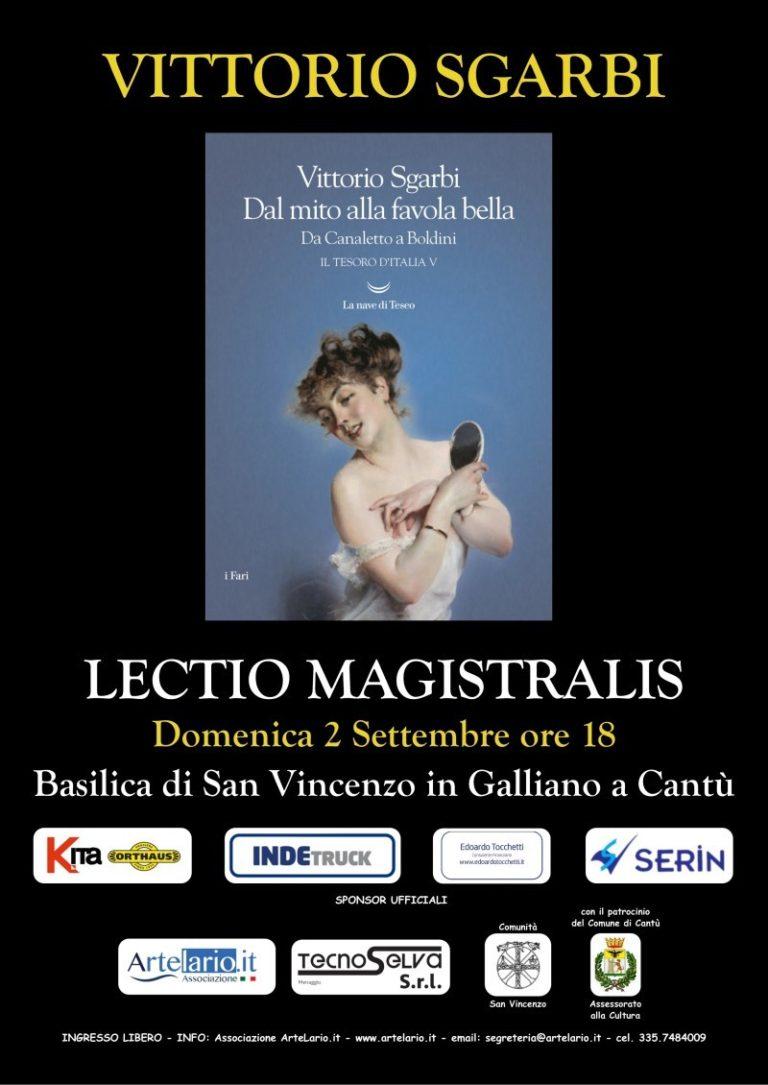 Como: Lectio Magistralis di Vittorio Sgarbi