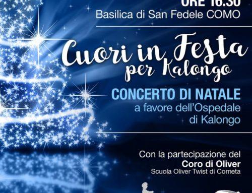 """""""CUORI IN FESTA"""" concerto di Natale"""