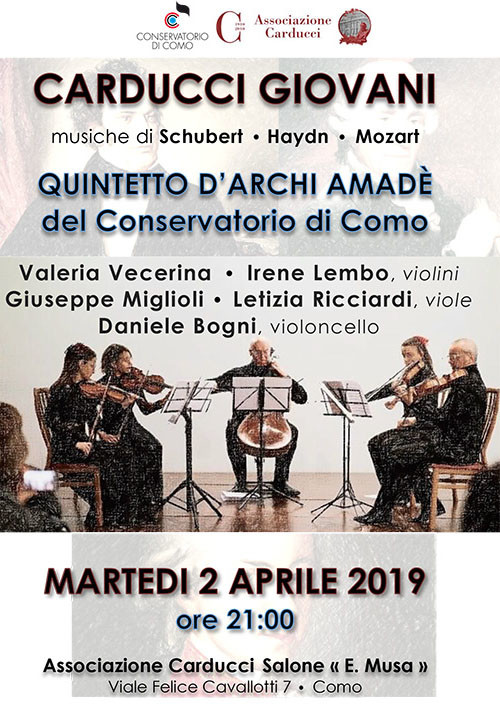 Como: Amadè esegue Schubert, Haydn e Mozart