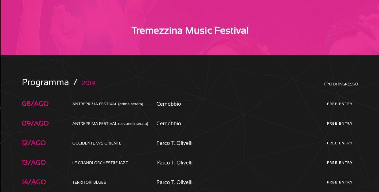 Tremezzina Music Festival – 17a edizione
