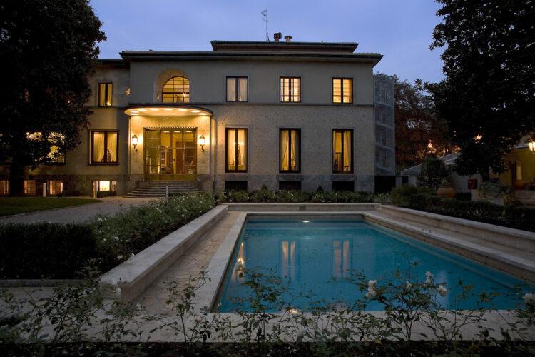 FAI Villa Necchi Campiglio Milano allimbrunire Foto F. Clerici © FAI Fondo Ambiente Italiano