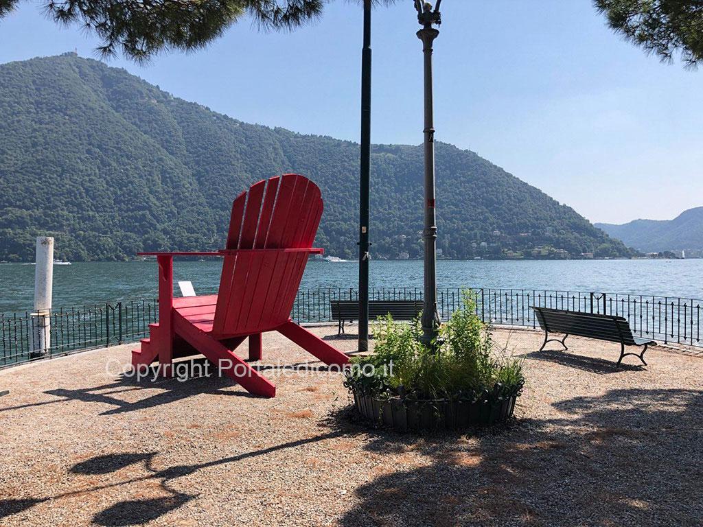 Delenimentum trono riva Cernobbio lago Como Orticolario